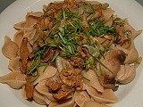 Pasta w.mushrooms