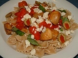Pasta Red-White-Green