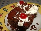 Black forest muffins